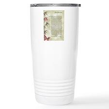 DESIDERATA  Travel Mug