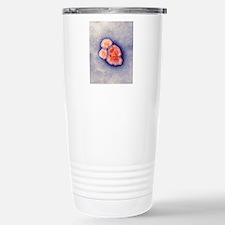 Measles virus particles Stainless Steel Travel Mug