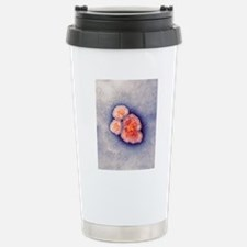 Measles virus particles Travel Mug