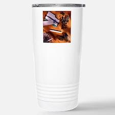 Marijuana use Travel Mug