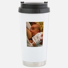 Mother breast-feeding h Stainless Steel Travel Mug