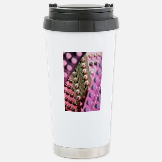 Oral contraceptive pill Stainless Steel Travel Mug