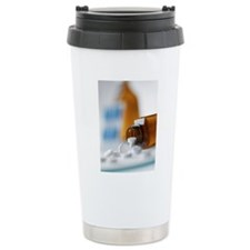 Painkilling drug Travel Coffee Mug