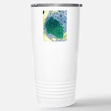 Papilloma virus particl Travel Mug