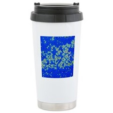 Poliovirus particles, T Travel Coffee Mug