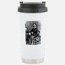 Portrait of Clara Barto Stainless Steel Travel Mug