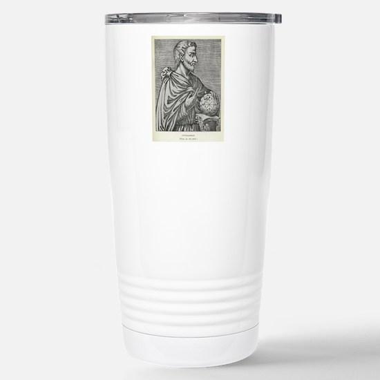 Pythagoras, Ancient Gre Stainless Steel Travel Mug