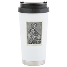 Pythagoras, Ancient Gre Travel Mug