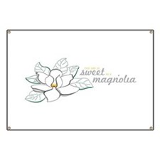 Sweet Magnolia Banner