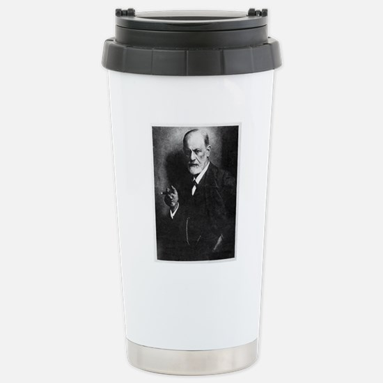 Sigmund Freud, Austrian Stainless Steel Travel Mug