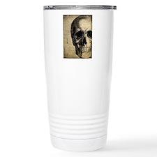Vintage Skull Travel Mug