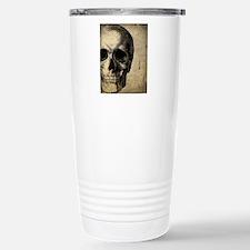 Vintage Skull Stainless Steel Travel Mug