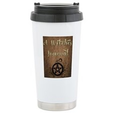 A Witches journal Travel Coffee Mug