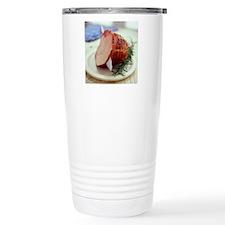 Sliced ham Travel Mug