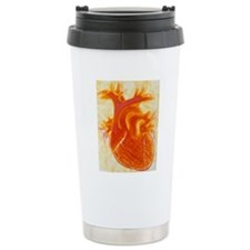 Artwork of a healthy hu Travel Mug
