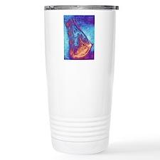 Artwork of a healthy br Travel Coffee Mug