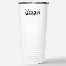 Yeager, Vintage Travel Mug
