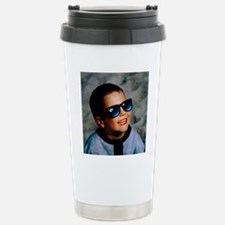 Boy viewing a total sol Stainless Steel Travel Mug