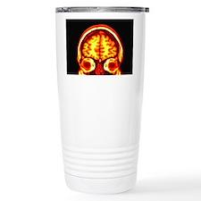 Brain, MRI scan Travel Coffee Mug