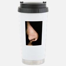 Close-up of a human nos Travel Mug