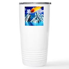 Computer artwork of a m Travel Mug