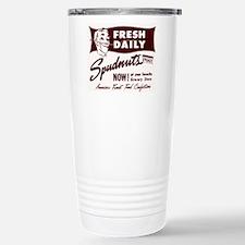 SPUDNUTS Fresh Daily Stainless Steel Travel Mug