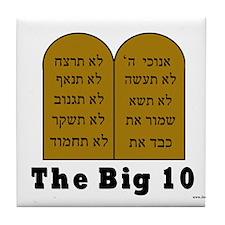 The Big 10 Tile Coaster