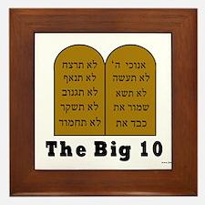 The Big 10 Framed Tile
