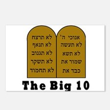 The Big 10 Postcards (Package of 8)