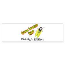 Chicago Cicada 2007 Bumper Bumper Sticker