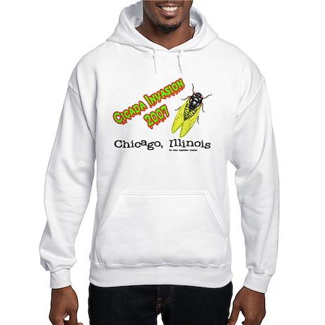 Chicago Cicada 2007 Hooded Sweatshirt