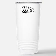 Albia, Vintage Travel Mug