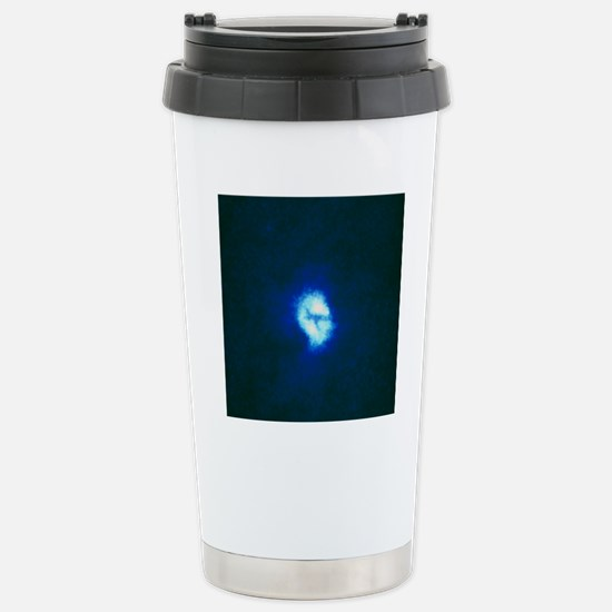 Core of spiral galaxy M Stainless Steel Travel Mug
