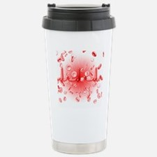 ECG and red blood cells Travel Mug