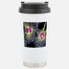 Fibroblast cells showin Travel Mug