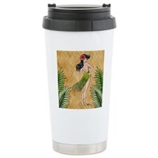 Island girl in a grass  Travel Mug