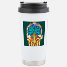 Healthy brain, MRI scan Travel Mug