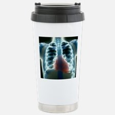 Healthy heart and lungs Travel Mug