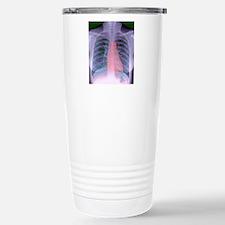Heart, chest X-ray Stainless Steel Travel Mug