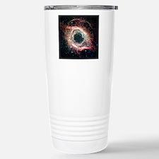 Helix nebula, infrared  Stainless Steel Travel Mug