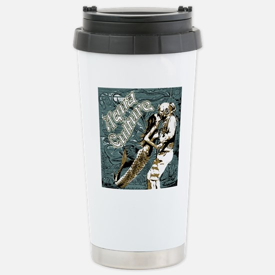 AQUA CULTURE KISS THE D Stainless Steel Travel Mug