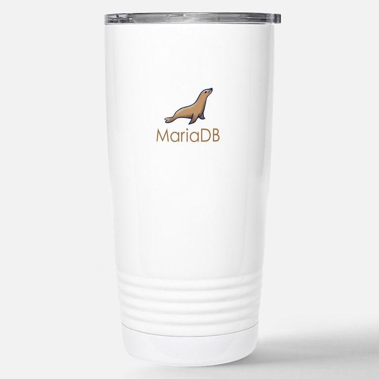 Supporting MariaDB Travel Mug