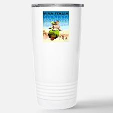 Vintage Viva Italy Trav Stainless Steel Travel Mug