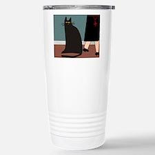 cat and nun blanket Stainless Steel Travel Mug