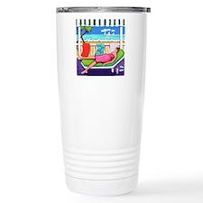 Seaside Siesta Beach Th Travel Mug