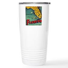 Vintage Florida Map Pos Travel Mug