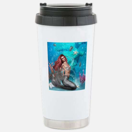 Magic Mermaid Stainless Steel Travel Mug