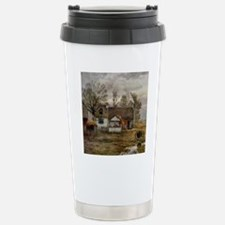 haywain_shower_curtain_ Stainless Steel Travel Mug