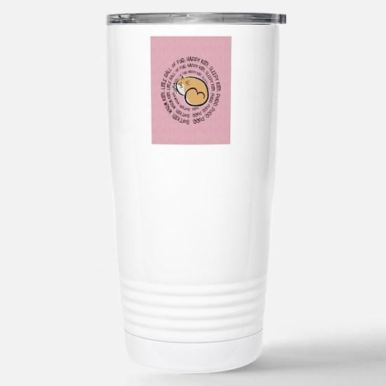 Sing Soft Kitty Stainless Steel Travel Mug
