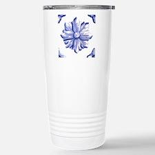 DELFT FLOWER TILE Travel Mug